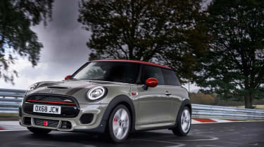 Mini John Cooper Works hatch 2019 facelift