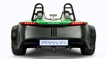 Caterham AeroSeven Concept sports car rear view