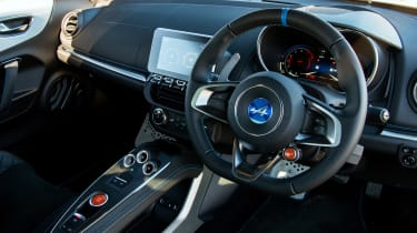 Alpine A110 Pure - dash