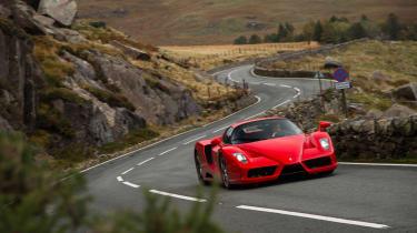 Ferrari Enzo evo front