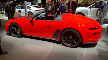Porsche 911 Speedster side