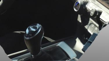 Chevrolet Corvette ZR1 spied - gearstick
