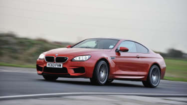 BMW M6 Competition Package orange front