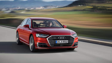 All-new Audi A8 - front 3.4 red