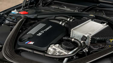 2018 model-year BMW M3 Competition Pack - Engine