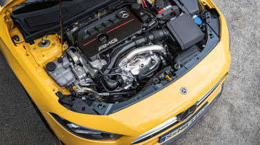 Mercedes-AMG A35 - engine