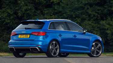 Audi RS3 Sportback - rear three quarter
