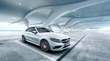 Mercedes-AMG C63 Ocean Blue Edition - front three-quarter