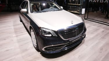 Mercedes-Maybach S 650 Saloon - front quarter