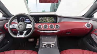 Mercedes S 560 coupe - interior 2