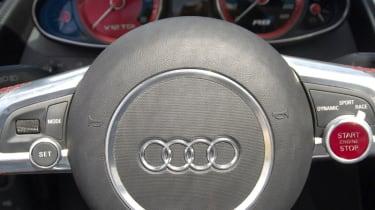 Audi R8 V12 TDI dashboard