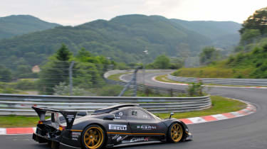 Pagani Zonda R Nürburgring record