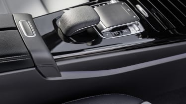 Mercedes-Benz A-class interior detail