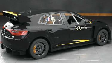 Prodrive Megane Supercar WRX - rear three quarter