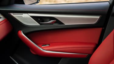Jaguar F Pace 2021 review - P400 door