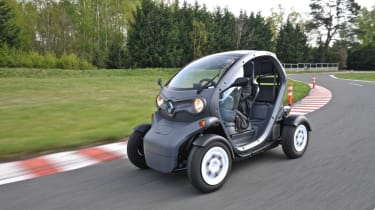 Renault Twizy electric car review