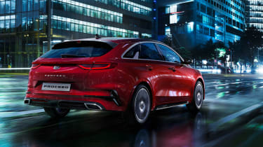 Kia Proceed - rear quarter