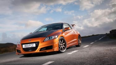 Honda CR-Z Mugen hybrid coupe news and pictures