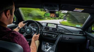 BMW M4 CS - interior driving