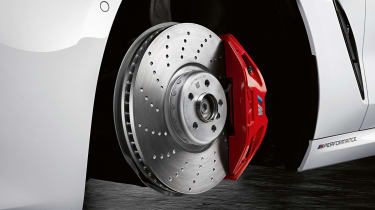 BMW M Performance parts brakes