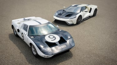 Ford GT Heritage Edition - old front