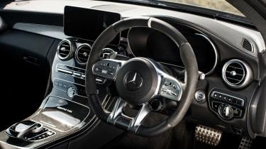 Mercedes-AMG C63 S Coupe black - interior