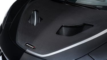 McLaren MSO X – bonnet