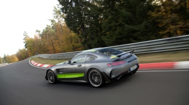 Mercedes-AMG GT R Pro review - rear quarter