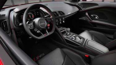 Audi R8 V10 Performance RWD – interior