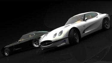 Growler Jaguar E-type recreation