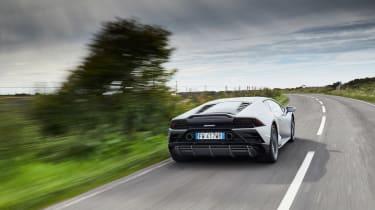 Lamborghini Huracan EVO - rear tracking