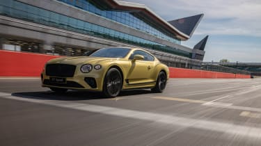 Bentley Continental GT Speed UK – front tracking