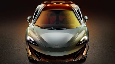 McLaren 600LT revealed - nose