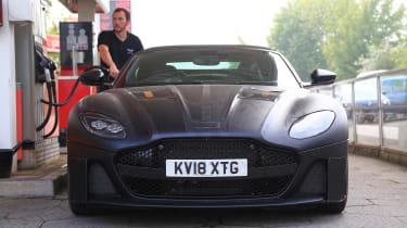 Aston Martin DBS Volante - nose