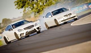 eCoty Mercedes C63 AMG Black vs Alpina B3 GT3 video