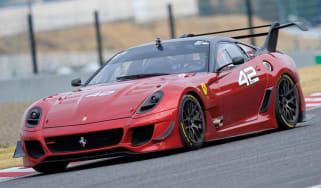Video: Ferrari 599XX Evo test at Suzuka