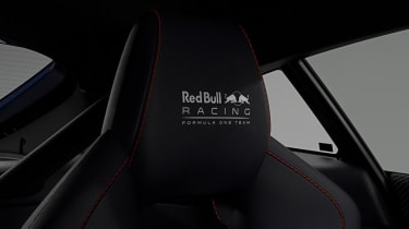 Aston Martin Vantage Red Bull Racing - headrest