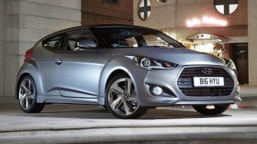 2012 Hyundai Veloster Turbo matt grey