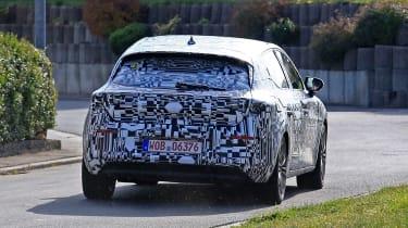 2019 SEAT Leon prototype – rear
