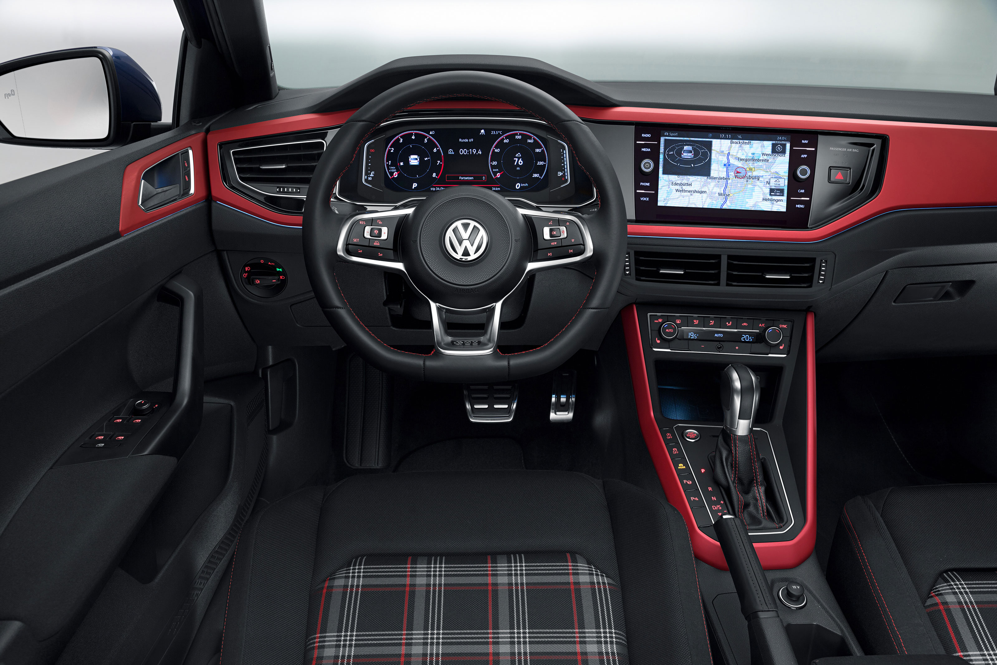 Vw Polo Gti 2018 Review Finally Worthy Of Those Three Iconic Letters Interior And Tech Evo