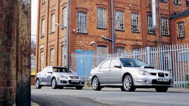 Mazda 6 MPS v Subaru Impreza WRX STI Spec D: Stealth