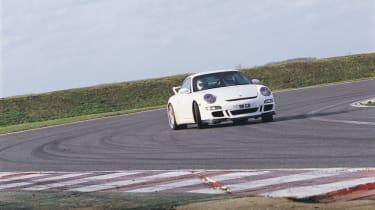 Porsche GT3 cornering