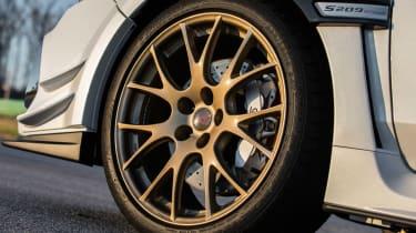 Subaru WRX STI S209 - wheels