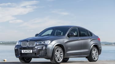 BMW X4 full spec, UK prices and pictures