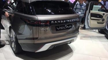 Range Rover Velar - Geneva rear three quarter