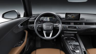 Audi A4 refresh 2018 - interior