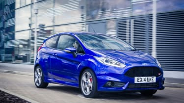 New top spec Ford Fiesta ST3 front