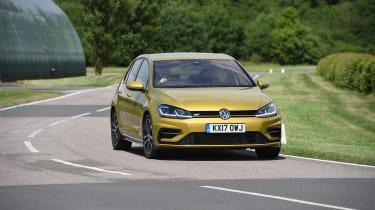 VW Golf - front cornering