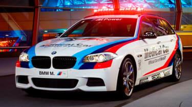 BMW M550d Touring 2013 MotoGP medical car