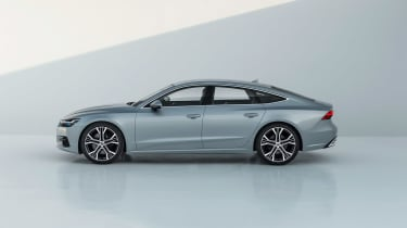 2018 Audi A7 Sportback press - profile